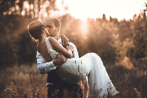 Vacker bröllopsbild av Leon Jiber
