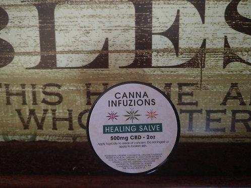 Healing Salve 500mg