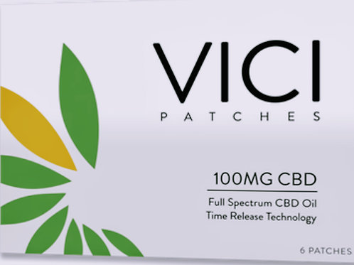 100mg CBD patch (6) patches