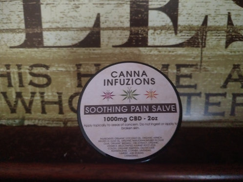 Soothing Pain Salve 1000mg