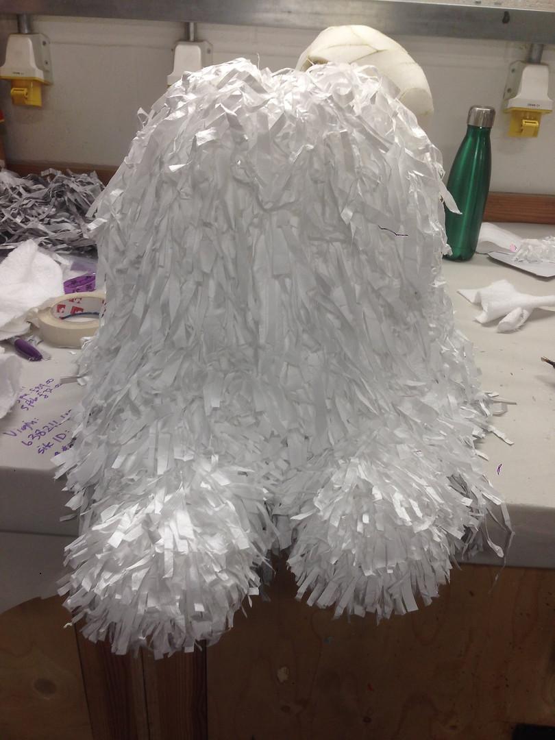 Sheepdog sans head