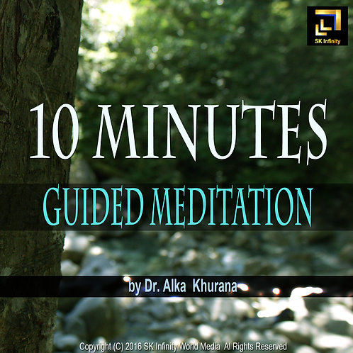 10 Minutes Guided Meditation CD