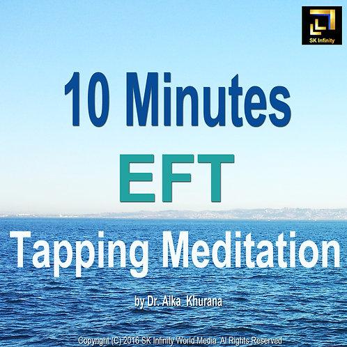 10 Minutes EFT Tapping Meditation CD