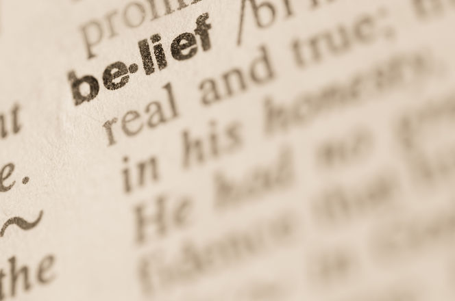 Definition of word belief  in dictionary