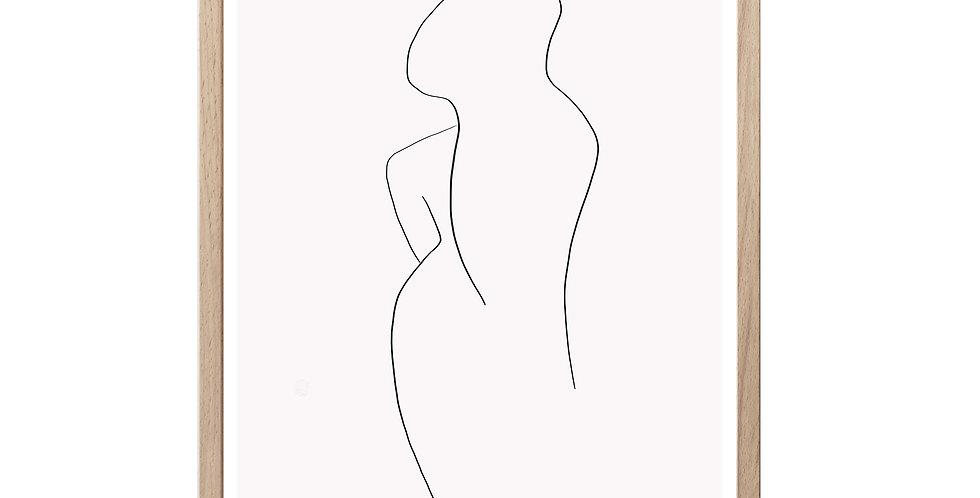 Woman- Art Print