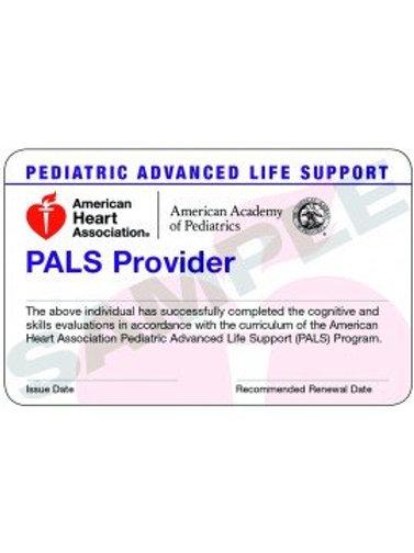 PALS Provider Card