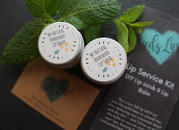 The Lip Service Kit: DIY lip balm & lip scrub