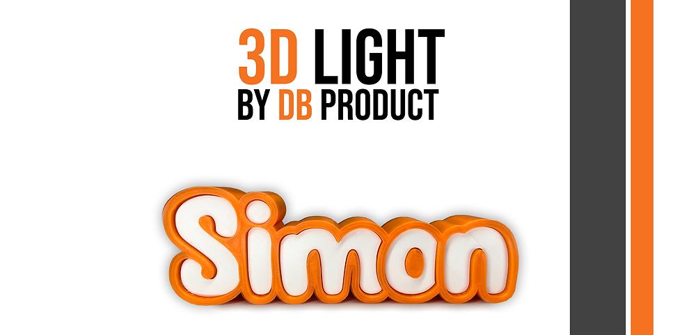 3D Light :  Une petite lampe qui trouvera sa place dans une chambre d'enfant