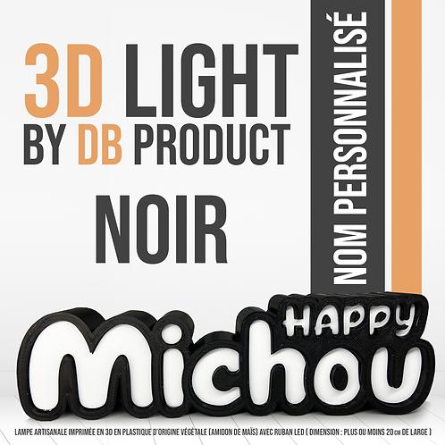 3D Light Noir