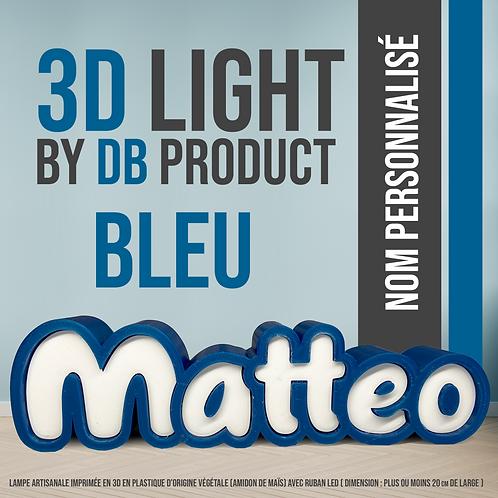 3D Light Bleu