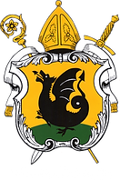 Logo ville de Malmedy blanc.png