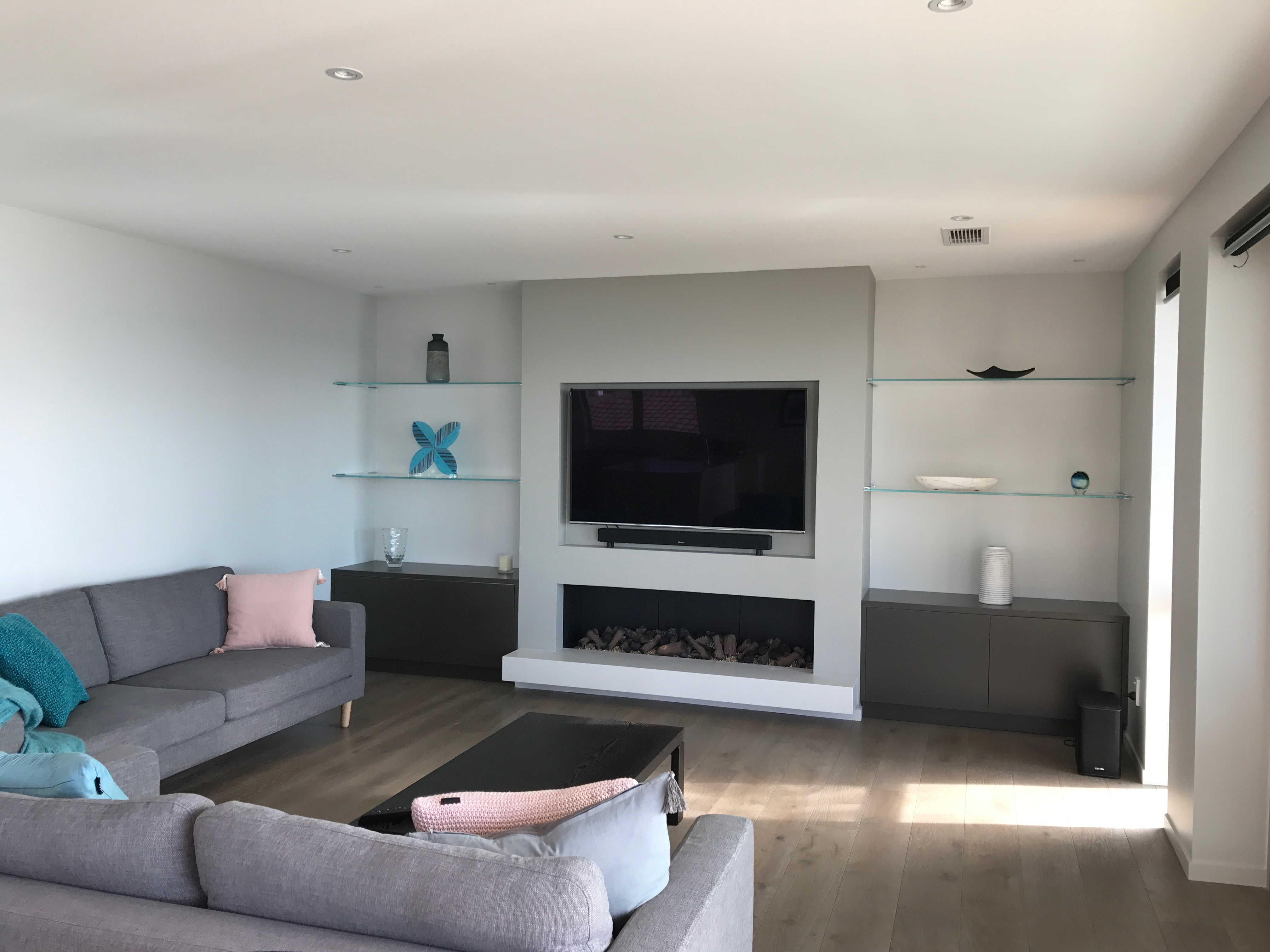 esplanade fireplace