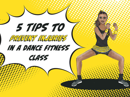 5 Tips to prevent injuries in a Dance Fitness Class