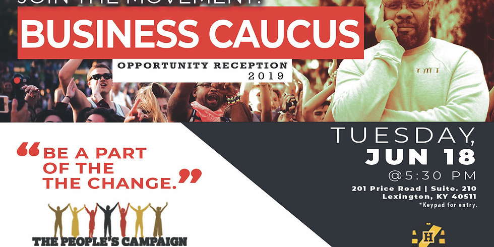Business Caucus Opportunity Reception