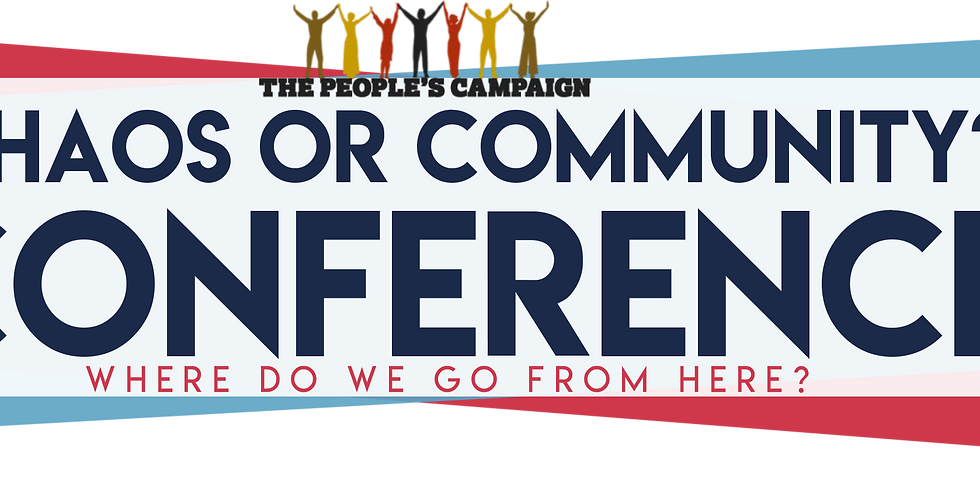 """3rd Annual """"Chaos or Community?"""" Conference"""