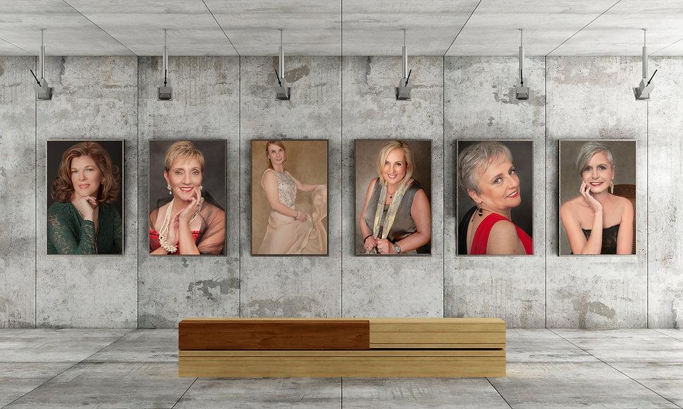 6 women gallery exhibition