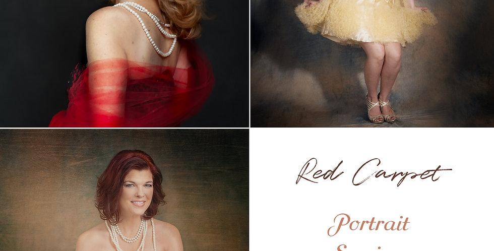 Red Carpet Portrait Session