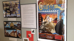 Owney featured at the Children's Illustrated Art Museum
