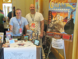 The Not-So-Secret Adventures of Owney at SPX 2014