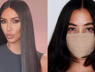 Kim Kardashian lanza su línea de cubrebocas y rompe récord de ventas