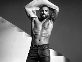 Maluma modela para Calvin Klein