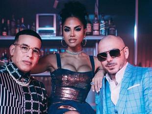Daddy Yankee, Natti Natasha y Pitbull reviven un éxito de El General.