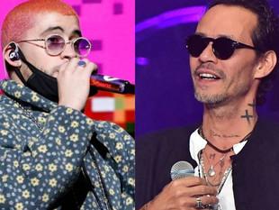 Marc Anthony y Bad Bunny, los latinos que más lucran con giras