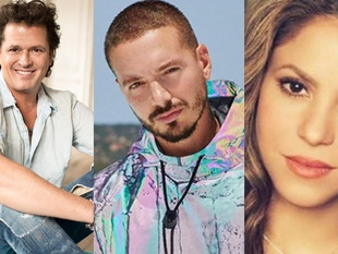 Carlos Vives, Shakira y J Balvin, entre los artistas latinos más solidarios durante la pandemia del