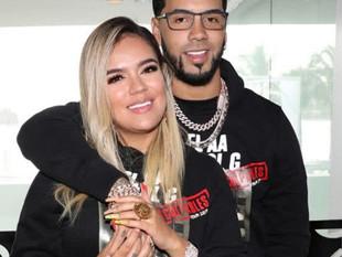 Anuel AA reitera que habrá boda con Karol G en 2020 pese a coronavirus