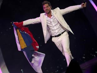 """David Bisbal desborda con su rumba en Viña y pide la """"libertad"""" de Venezuela"""