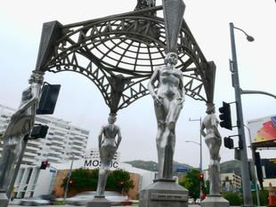 Desaparece la estatua de Marilyn Monroe que se encontraba en el Paseo de la Fama en Hollywood