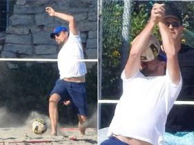 Leonardo DiCaprio recibe un golpe en el rostro y la foto se vuelve viral.
