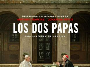 Netflix lanza tráiler de la película sobre los papas Francisco y Benedicto XVI