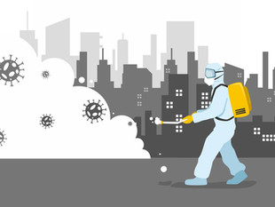 Por qué la OMS recomienda no desinfectar las calles para tratar de eliminar al virus