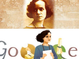 Google destaca la vida y labor de Matilde Hidalgo de Prócel.
