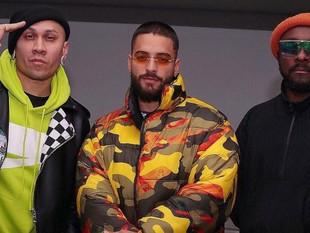 Maluma habría grabado una nueva canción junto a The Black Eyed Peas.