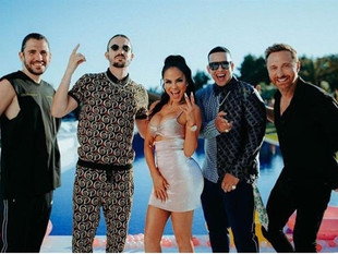 Daddy Yankee y Natti Natasha se alían con David Guetta, Dimitri Vegas y Like Mike para 'la canci