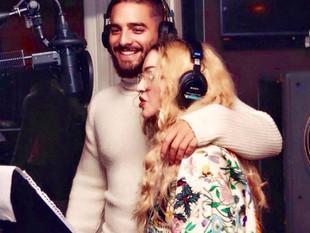 Madonna y Maluma anunciaron que preparan una canción juntos.