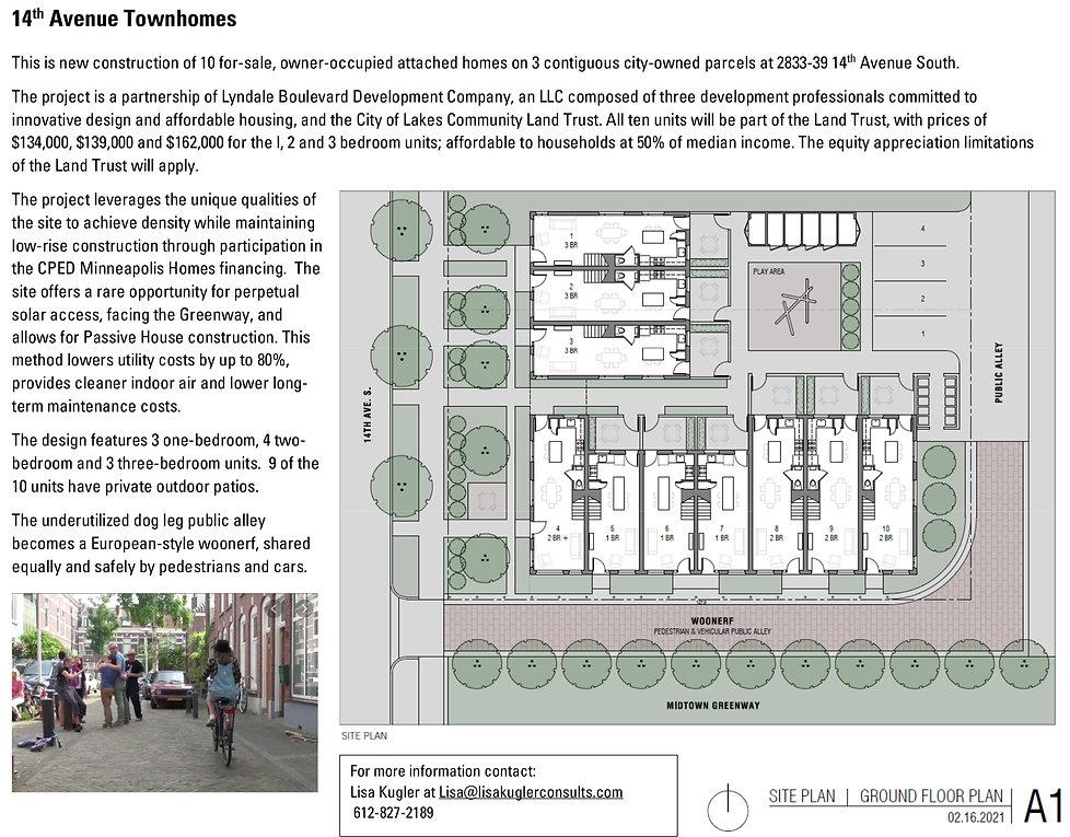 14th Avenue Townhomes Project Descriptio