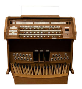 Viscount SONUS 359 Organ Console, available from Viscount Organs of the Ohio Valley