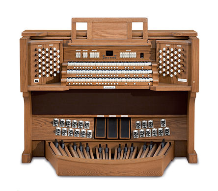 Viscount UNICO Drawknob Organ Console
