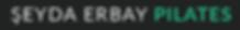 şeyda erbay pilates stüdyo logo