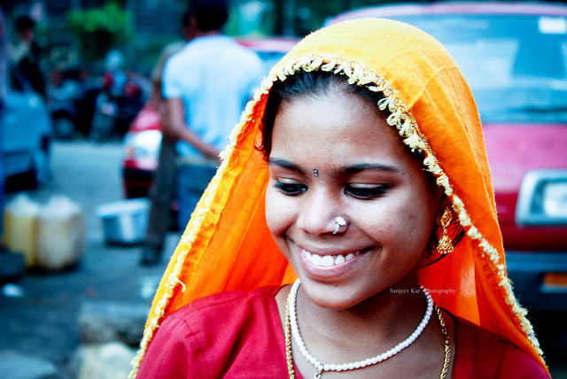 indian smile