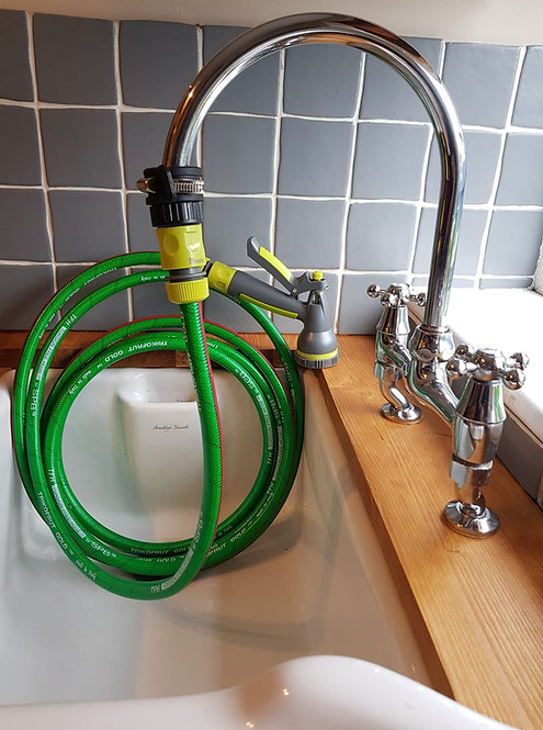 Dog Shower to fit onto you INDOOR Taps - Kitchen/Utility/Bathroom