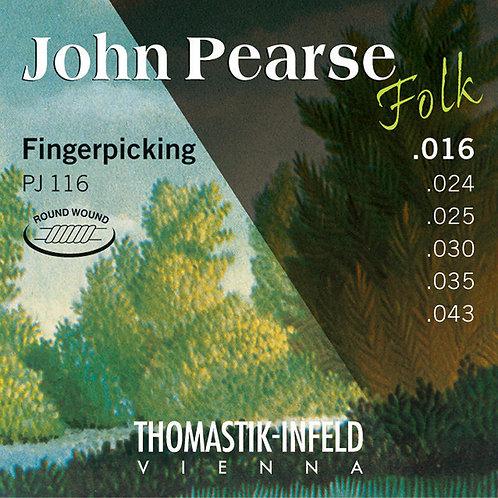 Thomastik-Infeld John Pearse Folk - PJ116 Fingerpicking (16-43)