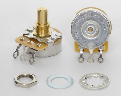 TAD CTS 250k Dimple Vintage Audio Taper Potentiometer, Solid