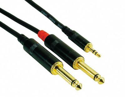 Rock Cable, 2x Jack - Mini Jack, 5m