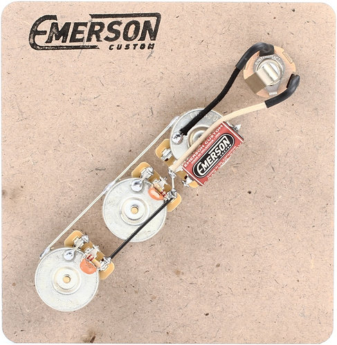 EMERSON JAZZ BASS PREWIRED KITS