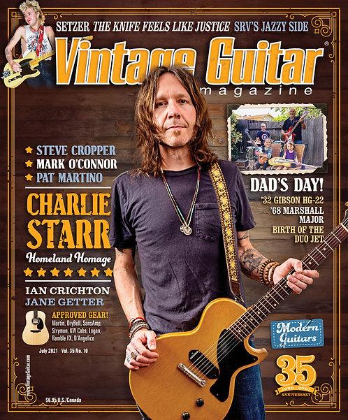 Vintage Guitar Magazin - July 2021