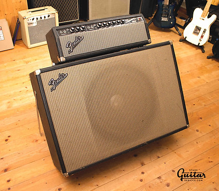 FENDER SHOWMAN AMP BLACKFACE - USA 1966